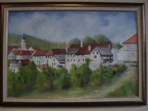 Štefan Horvat - Pogled na Višnjo Goro