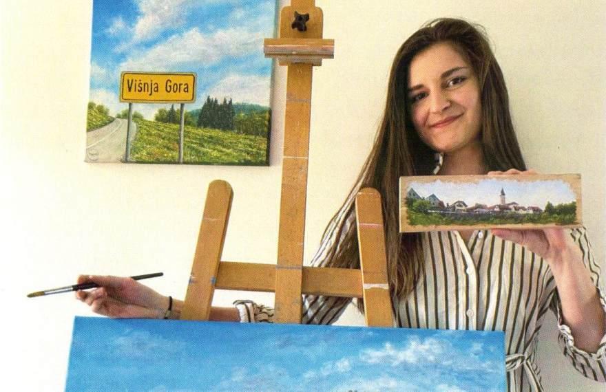 Vabljeni na razstavo slikarke Neže Erjavec